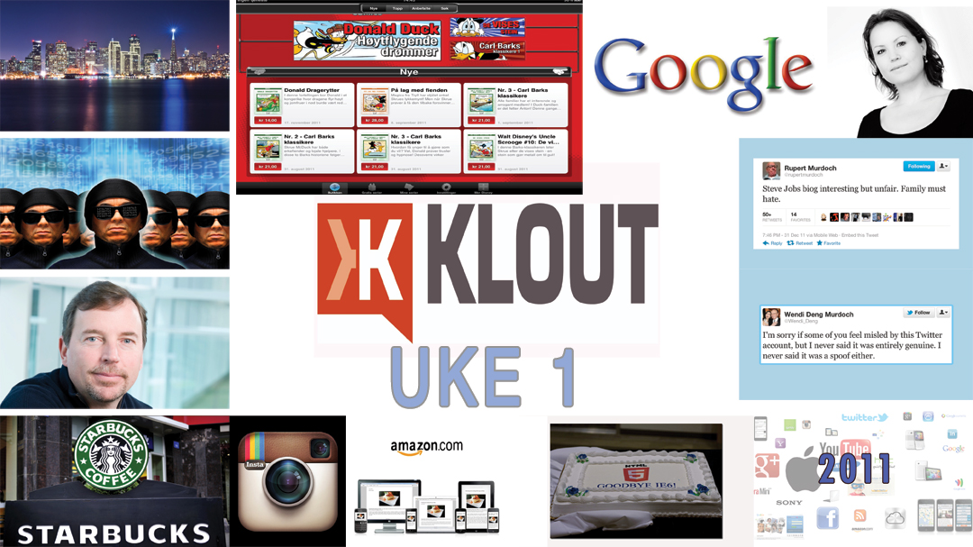 Sosiale medier og internettmarkedsf�ring uke 1