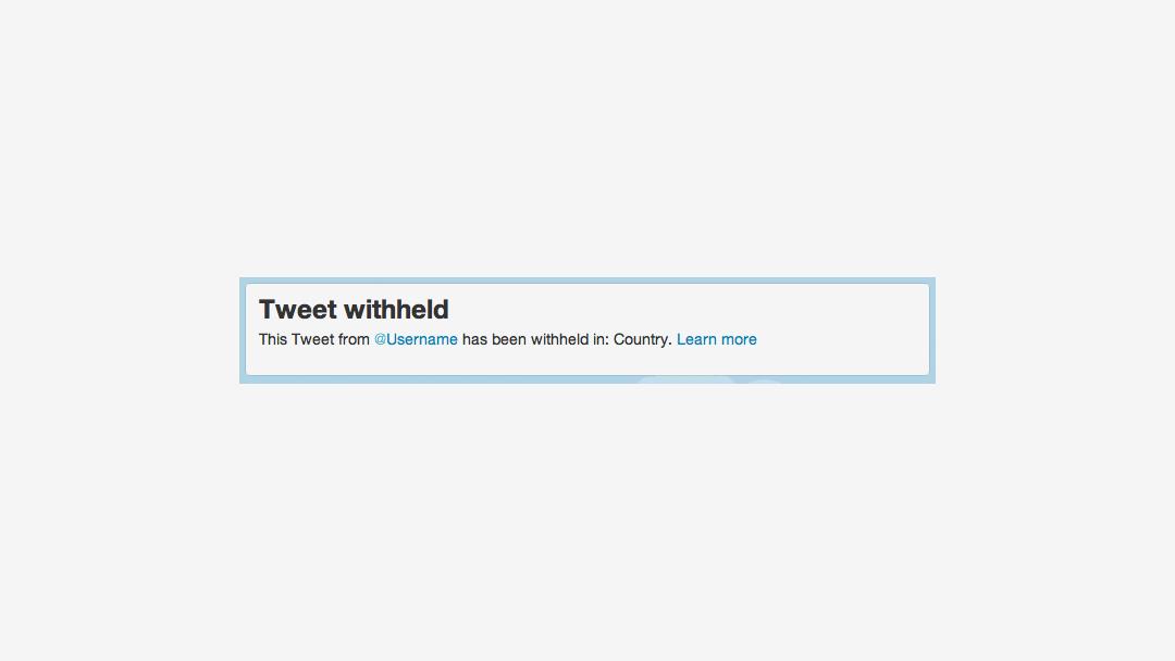 Twitter snur i sp�rsm�let om ytringsfrihet