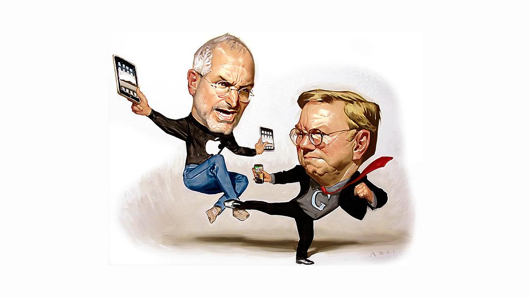 Steve Jobs ba Google slutte � rekruttere ansatte fra Apple